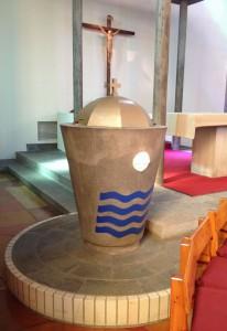洗礼の壷 (baptismal font)