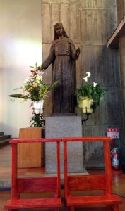 聖母マリア像 (Statue of the Blessed Virgin Mary)