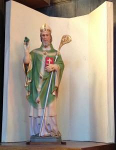聖パトリック像 (statue of St. Patrick)